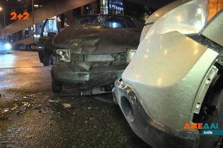 Оповита загадками аварія у самому центрі Києва