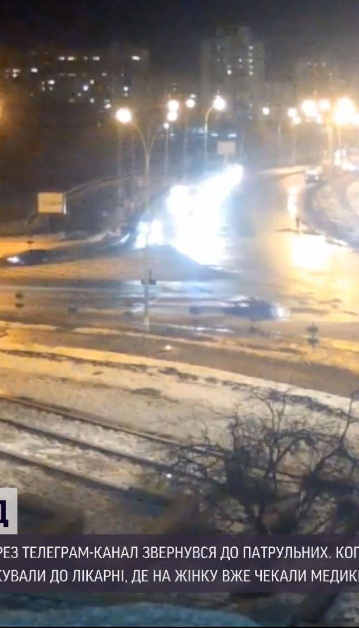 Новини України: у Сумах чоловік разом із патрульними доправив до лікарні хвору тещу