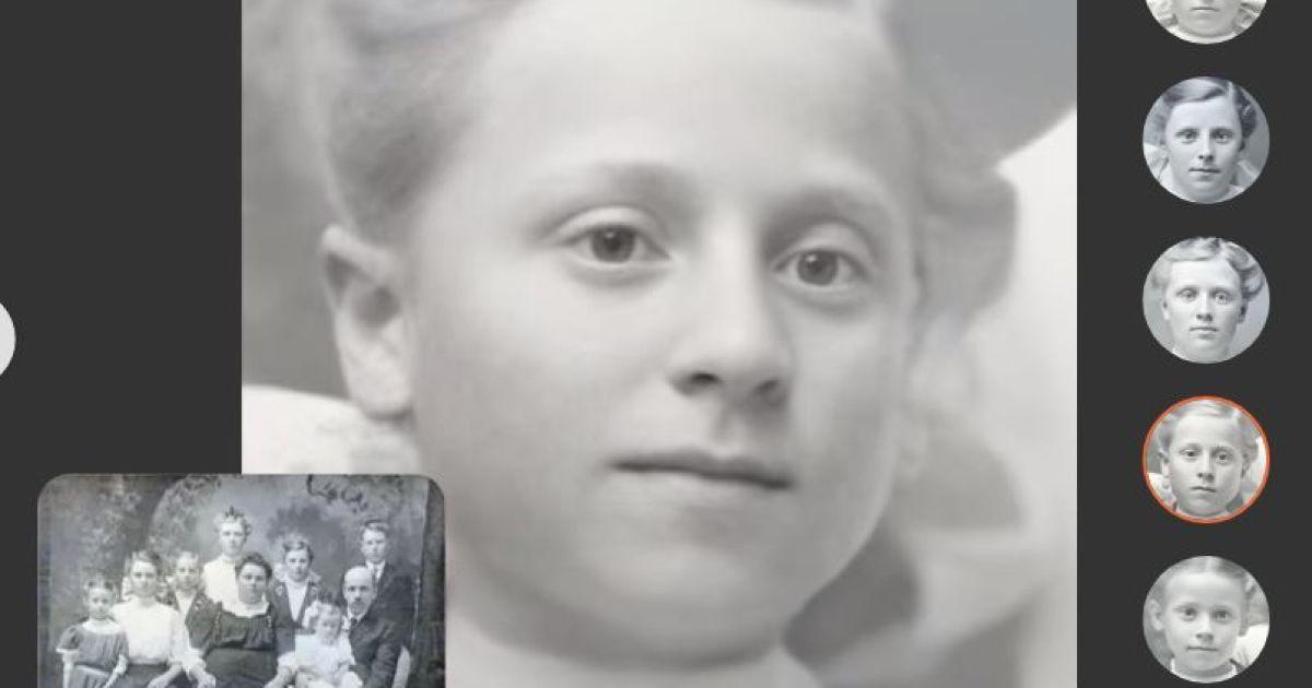 """""""Оживляє"""" фото: платформа для дослідження родинної історії запустила технологію анімації світлин"""