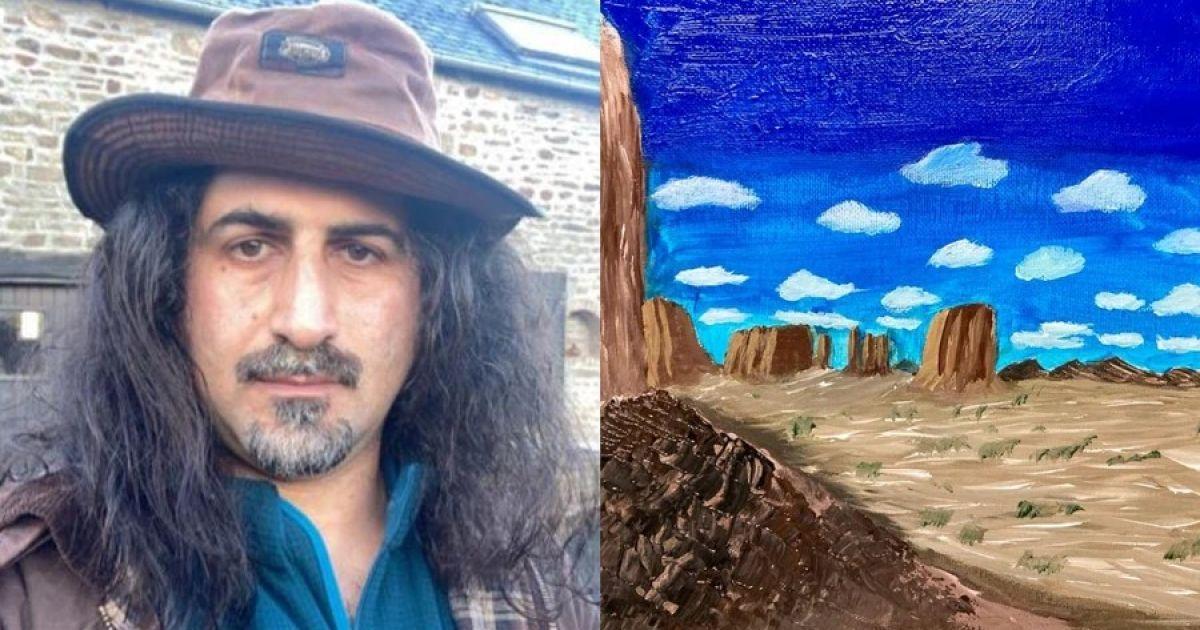 Сын Усамы бен Ладена стал художником: Америка — его муза