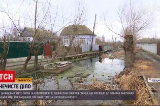 Новости Украины: Вилково в Одесской области затапливает нечистотами