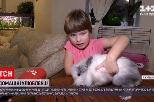 Новости Украины: как домашние животные помогают детям становиться более ответственными