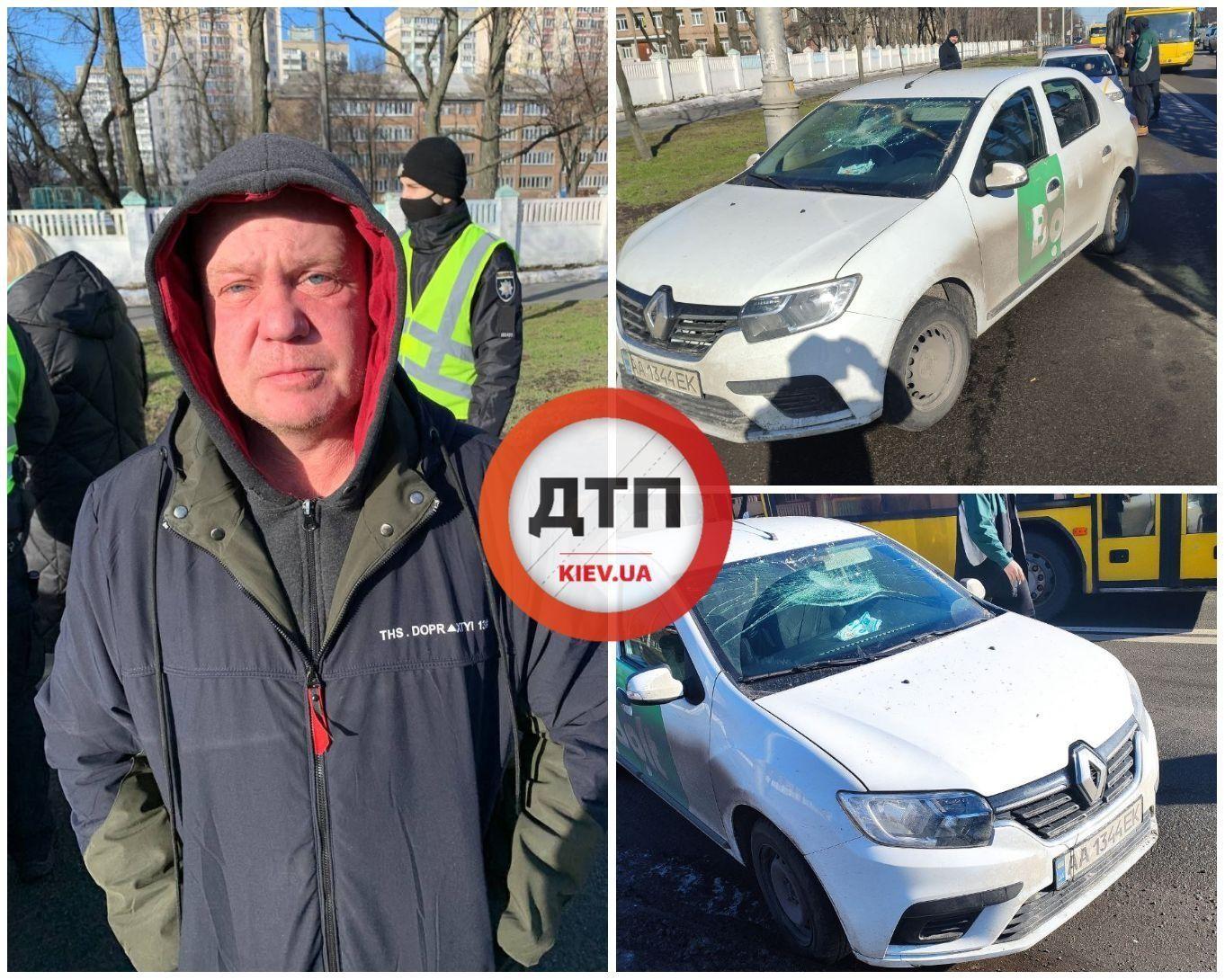 П'яний таксист збив маму з коляскою на переході