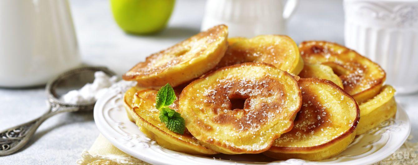 Яблучні оладки: найкращий рецепт для суботнього сніданку