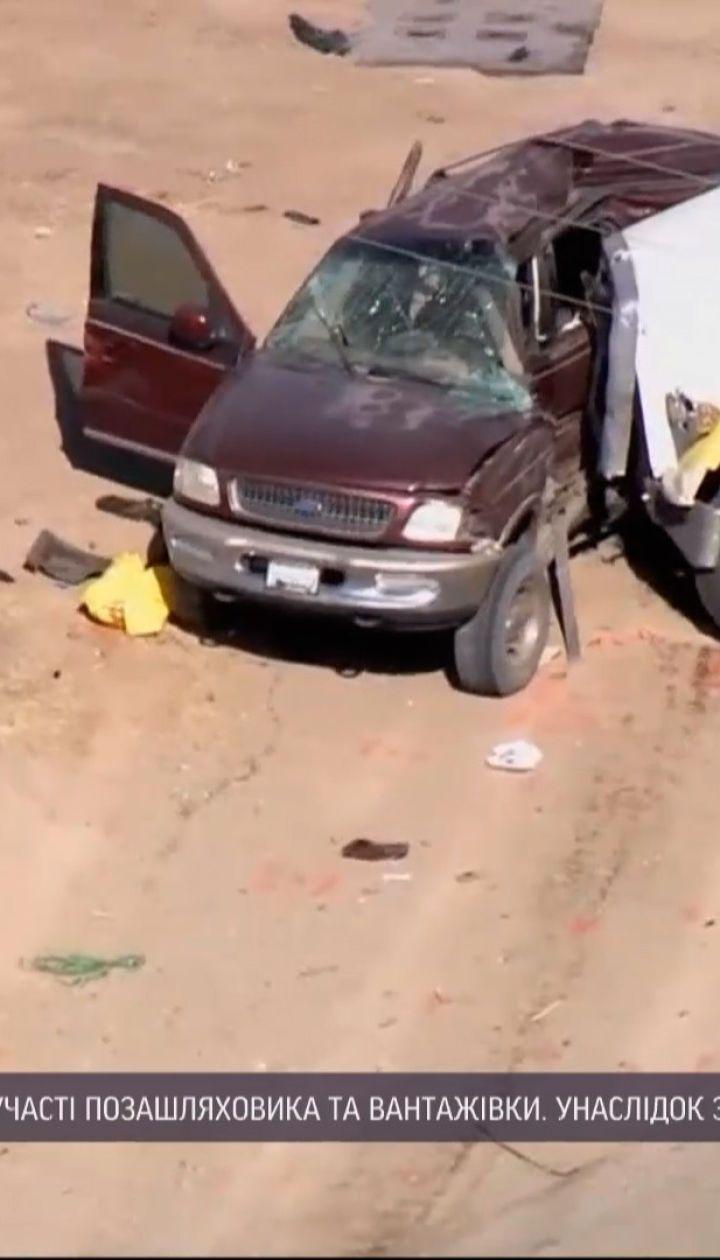 Новости мира: в США грузовик врезался во внедорожник, в котором было 25 мексиканцев
