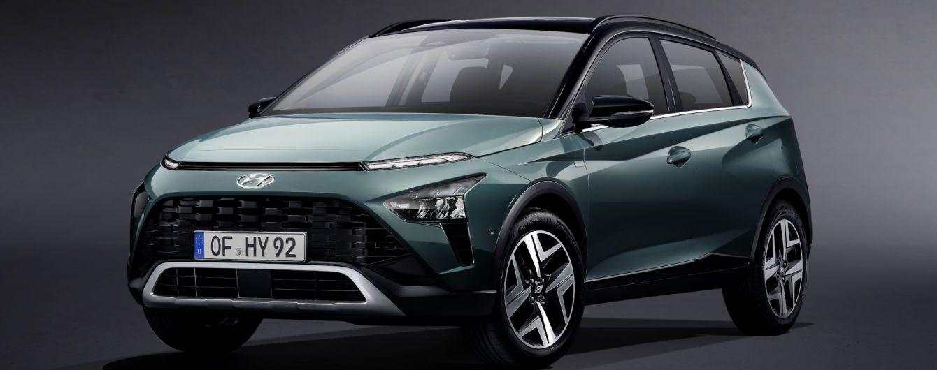 Hyundai официально представил самый меньший бюджетный кроссовер