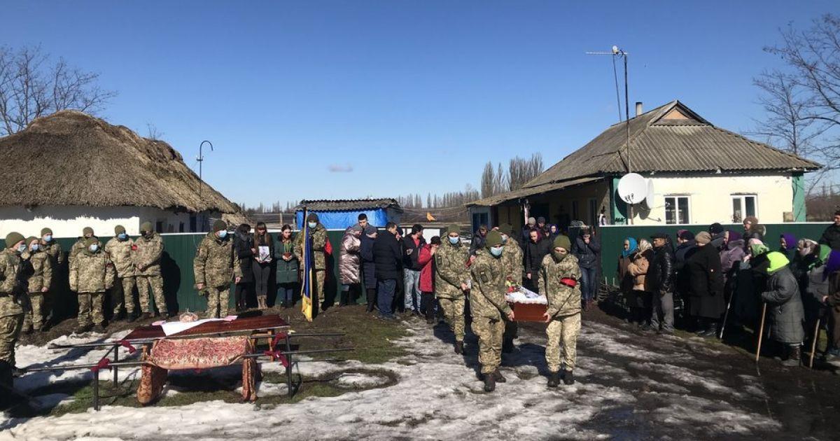 В Полтавской области прощаются с погибшим на Донбассе 19-летним бойцом