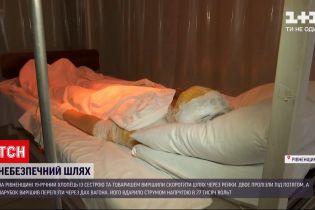 Новости Украины: в Ровенской области парня ударило током напряжением 27 тысяч вольт