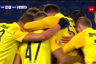 Дніпро-1 - Олександрія - 0:1. Відео голу Третякова