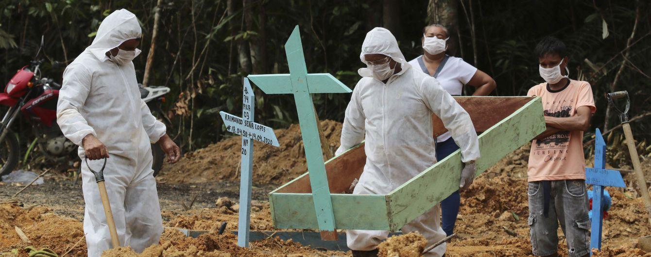 В Бразилии зарегистрировали рекордную смертность от коронавируса: какова ситуация в стране