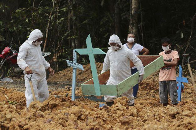 У Бразилії зареєстрували рекордну смертність від коронавірусу: яка ситуація в країні