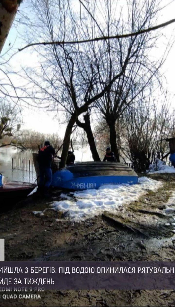 Новости Украины: во Львовской области река Западный Буг вышла из берегов