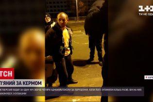 Новости Украины: пьяный водитель в Харькове собрал 6 протоколов за одну ночь