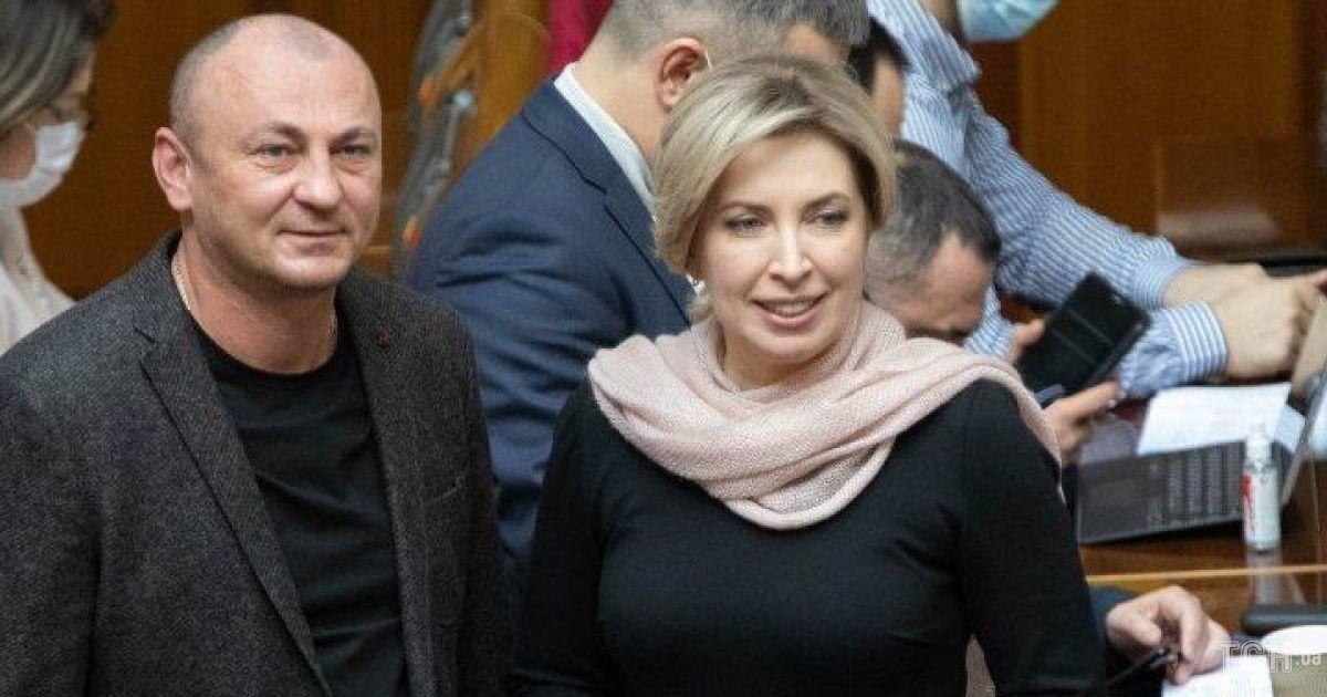 В обтислій сукні і з ніжним шарфом: нардепка Ірина Верещук на засіданні Верховної Ради