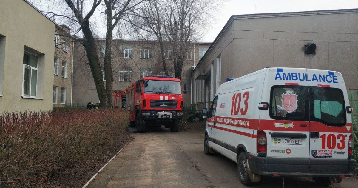 В Одесі у школі-інтернаті сталася пожежа: що відомо (фото)