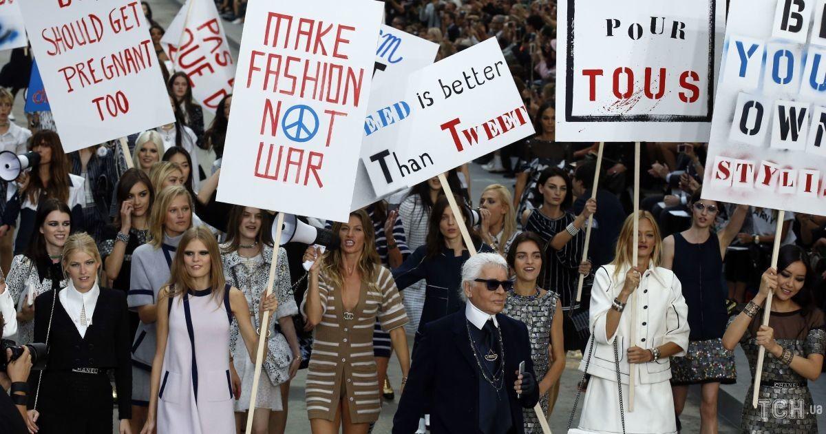 Корсети, мініспідниці і революційний показ Chanel: як фемінізм вплинув на моду