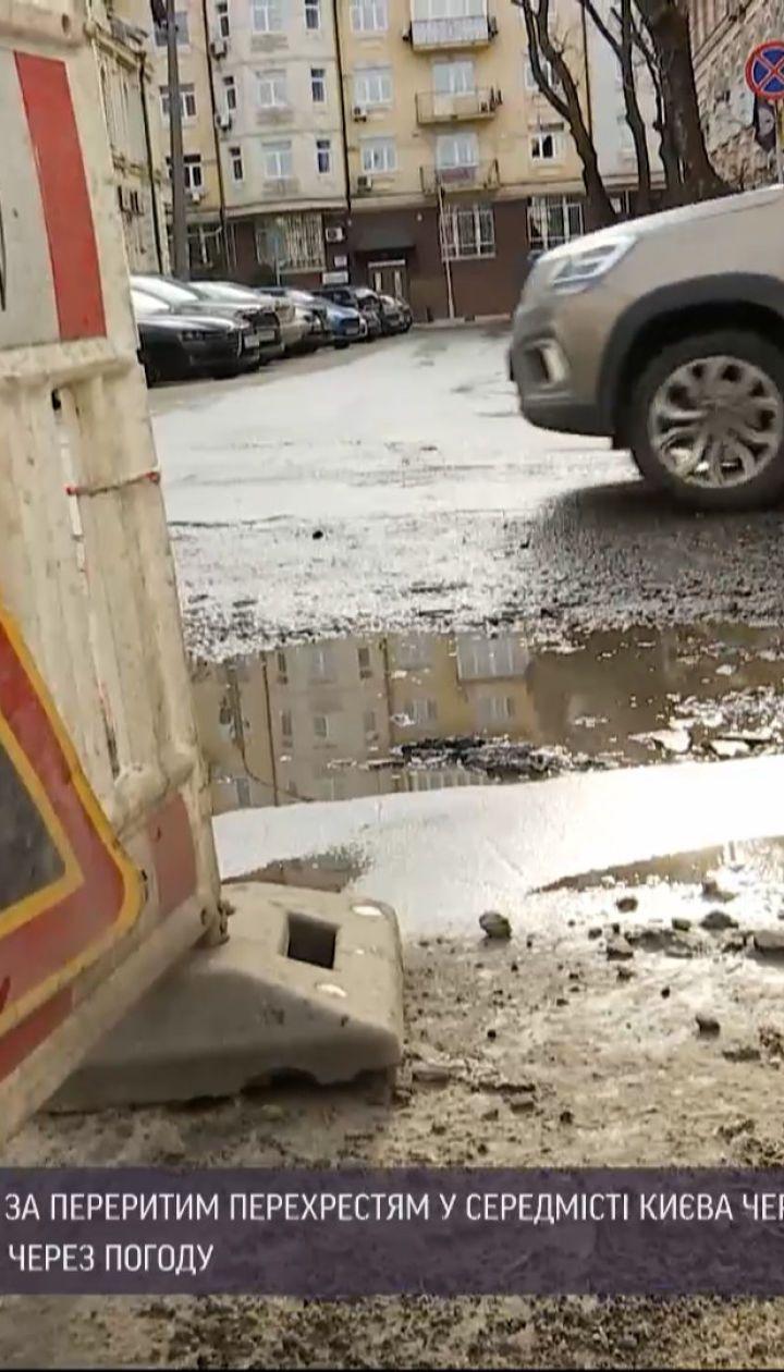 Новости Украины: почему после ремонта теплосетей на дорогах остаются ямы