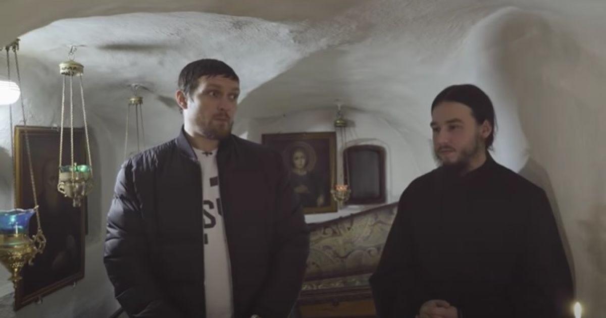Усик снялся в фильме Оксаны Марченко и вспомнил, как едва не умер в детстве