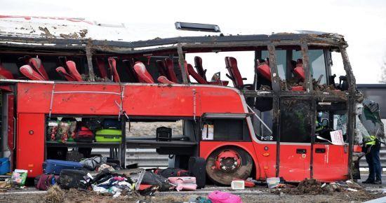Тіла чотирьох загиблих українців під час автокатастрофи у Польщі упізнали