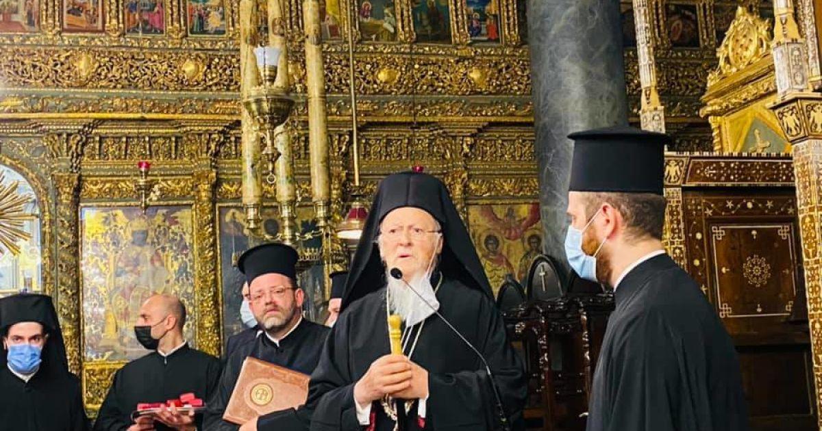 Вселенский патриарх Варфоломей посетит Украину на 30-ю годовщину независимости