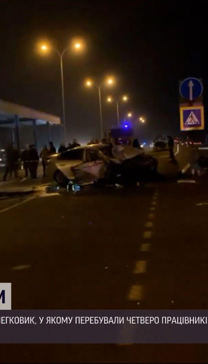 Новости Украины: в пригороде Одессы произошло ДТП с участием полицейских