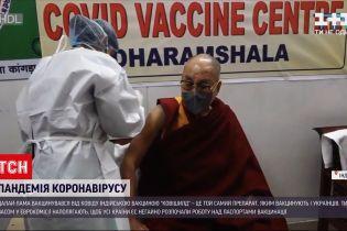 Новости мира: Далай-лама привился от коронавируса