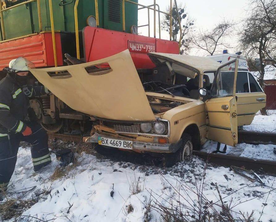 аварія авто з поїздом у Вінниці_2