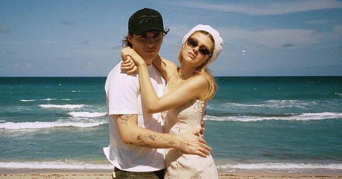 Щасливі разом: Нікола Пельтц запостила пляжний знімок з Брукліном Бекхемом
