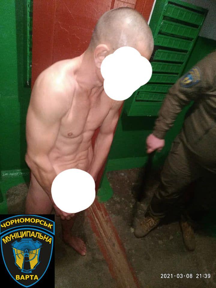 голий чоловік