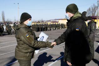 В Кривом Роге поздравили женщин-военных, служивших в зоне ООС