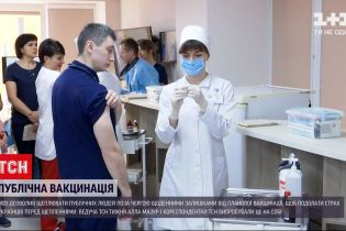 """Новости Украины: журналисты ТСН присоединились к """"публичной вакцинации"""""""