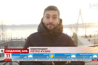 Зима не відступає: в Києві знову холодно