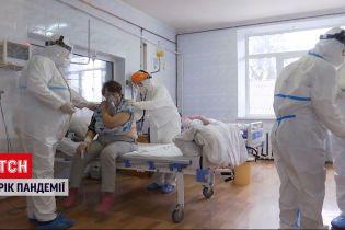 Новини України: як для українських лікарів минув рік пандемії