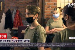 Новости Украины: городской председатель Тернополя грозит заведениям, которые нарушают карантин