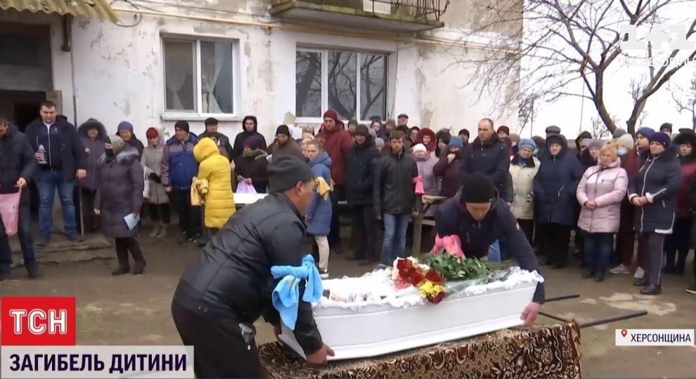 Убийство Марии Борисовой: как попрощались с девочкой в родном селе -  Эксклюзив ТСН - TCH.ua