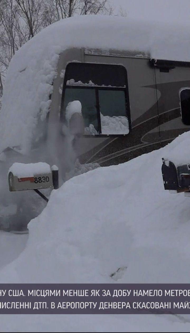Новости мира: в аэропорту Денвера из-за снежного шторма отменили почти 2 тысячи рейсов