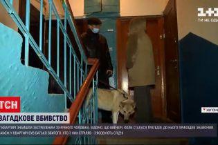 Новини України: у Житомирі чоловік загинув від вогнепального поранення