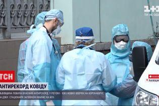 Новини України: у Львівській області хвора на COVID-19 медсестра викинулася з вікна