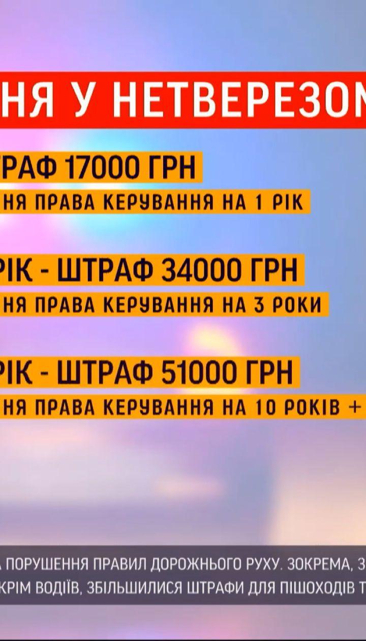 Новини України: як запровадження нових штрафів уплинуло на дорожню ситуацію в Києві