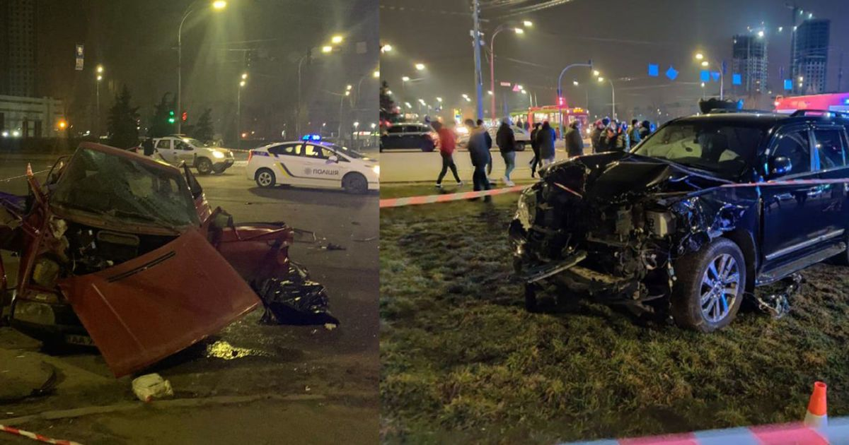 ДТП з двома загиблими у Києві: колишнього копа, який на Land Cruiser протаранив легковик, заарештовано на два місяці