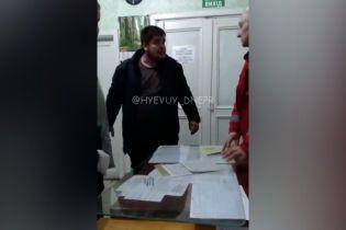 Чоловік влаштував дебош у Солонянській районній лікарні у Дніпропетровській області