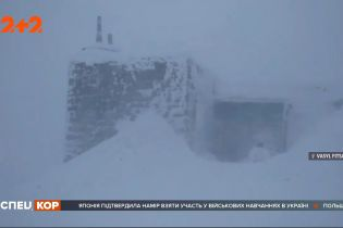 В Карпаты вернулась зима: в высокогорье бушует сильная метель
