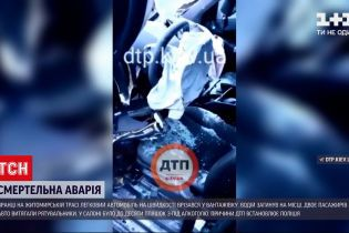 Новини України: на Житомирській трасі сталась смертельна аварія