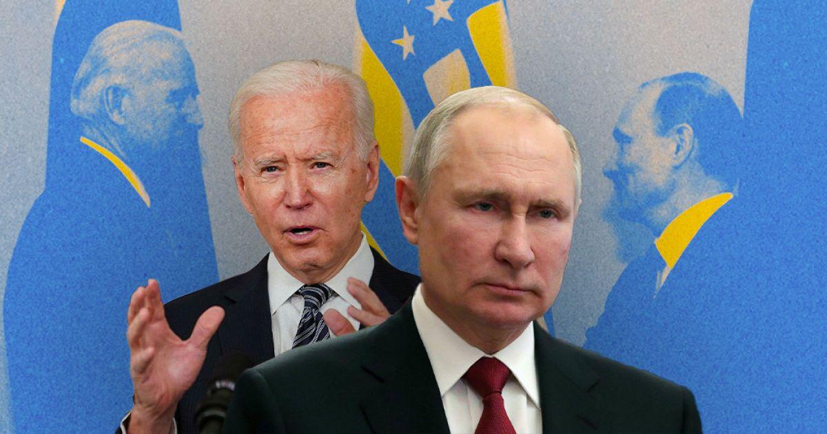 Байден зателефонував Путіну і закликав Росію припинити ескалацію на сході України