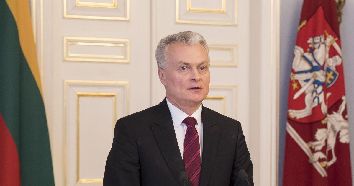 Президент Литвы заявил, что Путина можно назвать убийцей