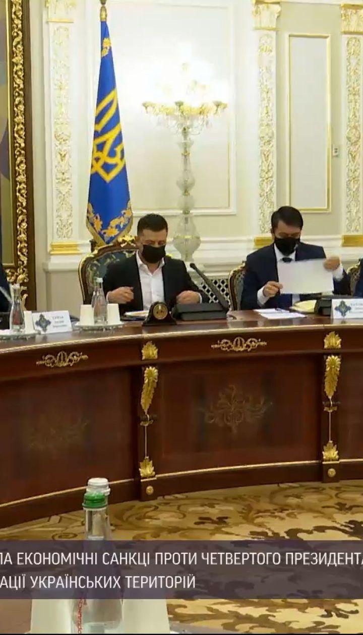 Новости Украины: Баканов предложил ввести санкции против Януковича и его приспешников