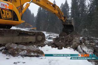 Ремонт аварийного моста на Прикарпатье: может упасть в любой момент