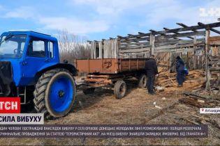 Новости Украины: в селе Луганской области местный житель пострадал от взрыва гранаты