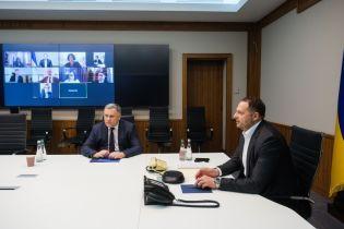 """Єрмак обговорив с послами """"Великої сімки"""" та ЄС ситуацію на Донбасі та погроми на Банковій"""