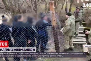 Новости Украины: мужчины через реку пытались переправить сигареты в Румынию